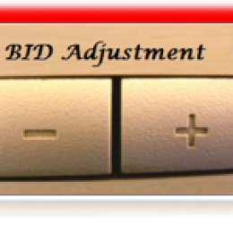 Adwords Bid Adjustment