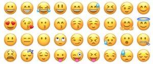 facebook emojies