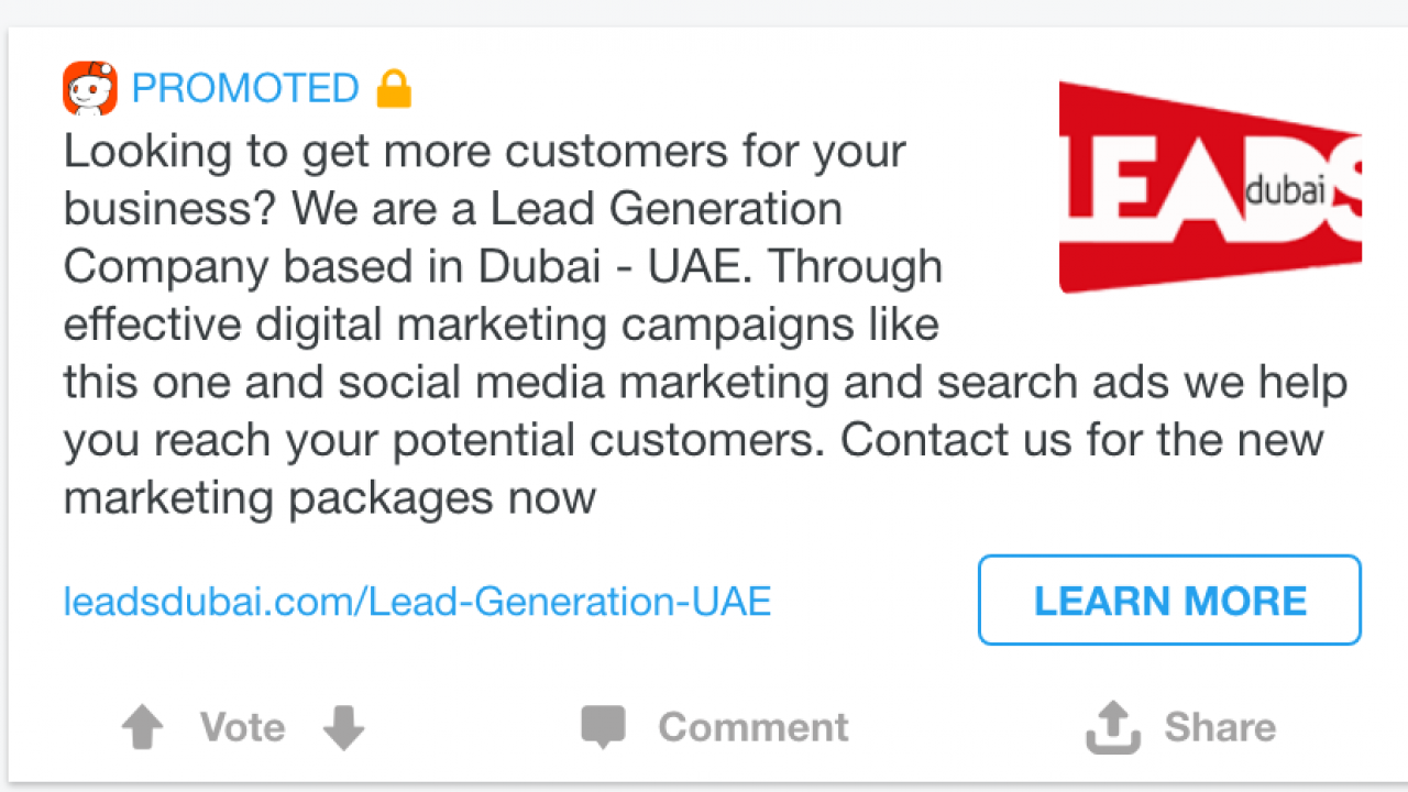 Reddit Advertising Options in UAE  Reach 100,000+ Redditers